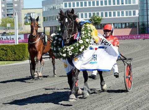 Tom Erik Solberg og Odd Herakles. Lørdag kommer de ut på Biri. Foto: Lars Jakobsson, TR Media / NTB scanpix