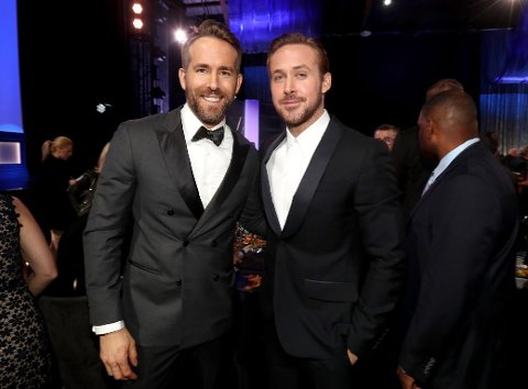 SAMMEN: Ryan Reynolds og Ryan Gosling.
