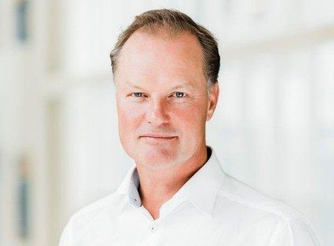 KUNDEFLUKT: Banksjef Øyvind Thomassen i Sbanken må konstatere at utlånene falt i andre kvartal.