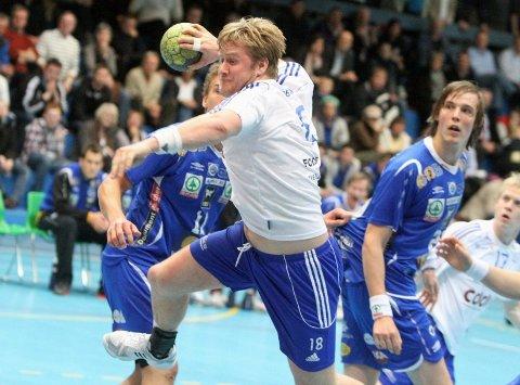 Espen Granli scoret fire mål fra streken mot Daniel Lindgren og Drammen.