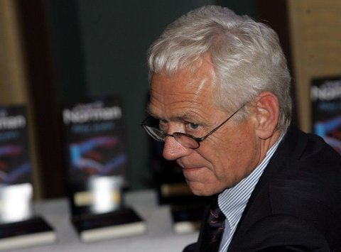 Arkivbilde: Tidligere statsråd Victor Normanavbildet i november 2004.