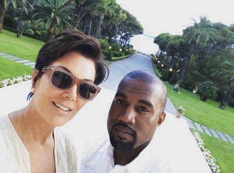 LYKKELIGERE TIDER: Det kan se ut som Kanye West blir nødt til å skjerpe seg, om han ønsker å holde seg inne med Kardashian-familien. Foto: Bulls