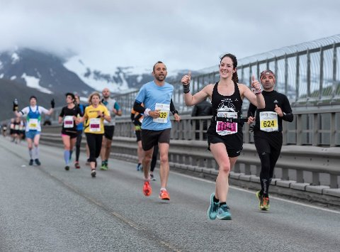 LØPEMORO: Lørdag kveld og natt til søndag arrangeres Midnight Sun Marathon i Tromsø.