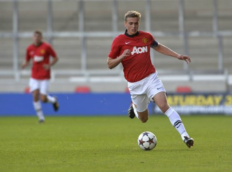 TALENT: Unggutten James Wilson spås en stor karriere i Manchester United.