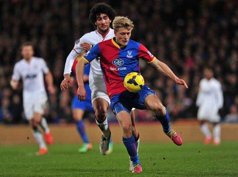 NOK EN NORDMANN PÅ VEI UT: Jonathan Parr har fått lite spilletid i Crystal Palace under Tony Pulis.