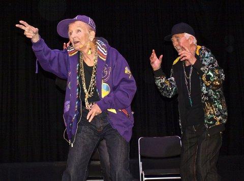 Cabaret Fossile viste at alder er ingen hindring for å være kul.