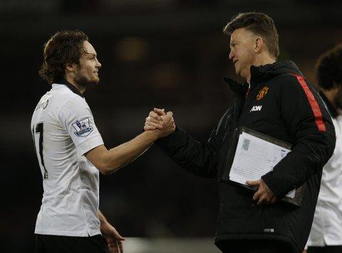 FÅR KRITIKK: Manchester United-manager Louis van Gaal.