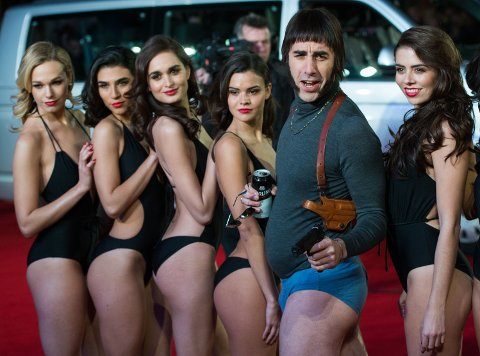 GLIS: Baron Cohen i karakter.