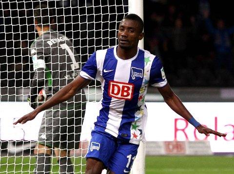 MATCHVINNER: Hertha Berlin-angriper Salomon Kalou.