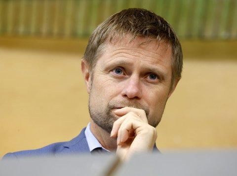 SNARLIG AVGJØRELSE: Helseminister Bent Høie (H) kommer med en førjulsgave som vil skape glede og forargelse når han kunngjør hvor nytt sykehus skal ligge - trolig 19. desember.