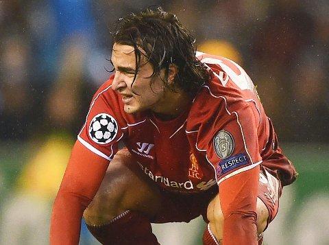 BLE UTVIST: Liverpools Lazar Markovic.