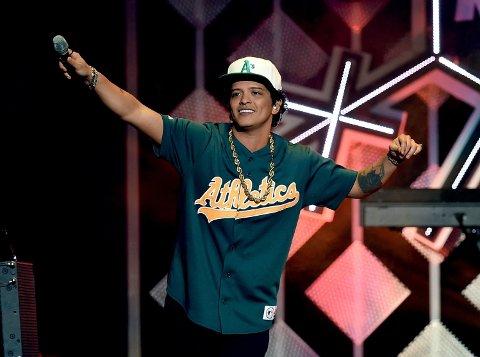 Bruno Mars skal spille på Telenor Arena onsdag 24. mai.l