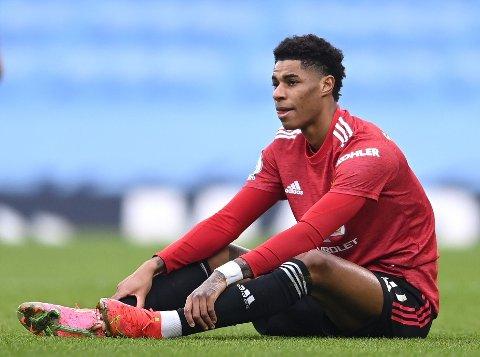 SLÅR TILBAKE: Marcus Rashford tar et oppgjør med et magasin som antyder at Manchester United-stjernen kan ha flere motiver enn bare å hjelpe barn med sitt veldedige arbeid.