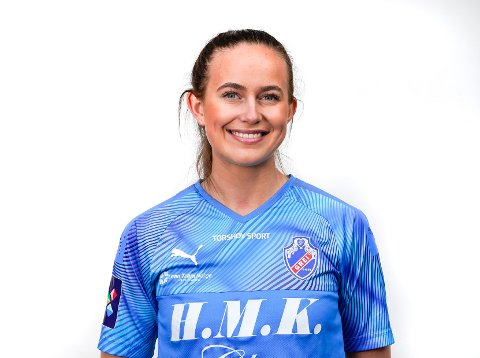 MATCHVINNER: Grei-spiller Tine Celine Karstensen imponerte mot Hønefoss.