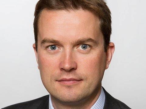 Statssekretær i Utenriksdepartementet, Bård Glad Pedersen (H).