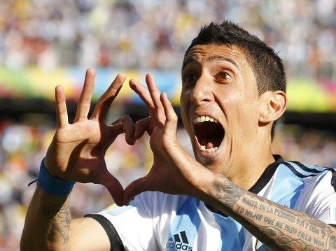 - FØLER SEG IKKE VERDSATT: Det hevdes at Angel Di Maria ikke føler seg verdsatt i Madrid, og kan derfor være på vei til Manchester United.