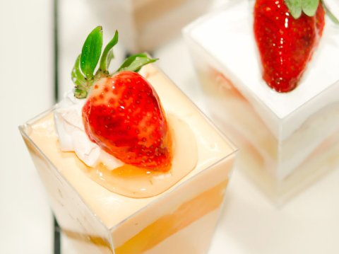 DESSERTRENDER: Mange lar seg friste av «dessertsymfonier» som kan by på flere mindre desserter i samme porsjon.