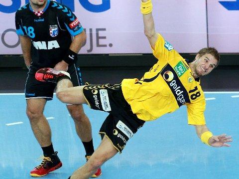 SEKS MÅL: Bjarte Myrhol scoret seks mål i mesterligaåpningen.