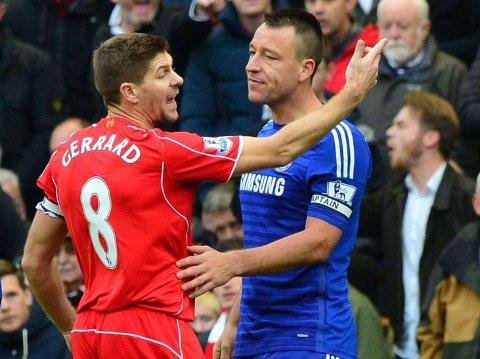 BOSMANVETERANER: Både Liverpools Steven Gerrard og Chelseas John Terry er på utgående kontrakt.