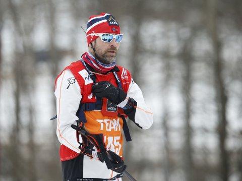 VIL HA NY JOBB: Smøresjef Knut Nystad.