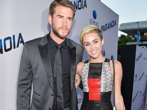 FUNNET TONEN IGJEN?: Det ryktes at Miley Cyrus og hennes eksforlovede har begynt å tilbringe tid sammen igjen.