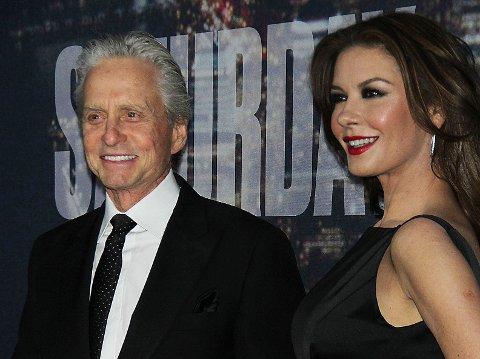 SAMMEN IGJEN: Michael Douglas og Catherine Zeta-Jones fant tilbake til hverandre.