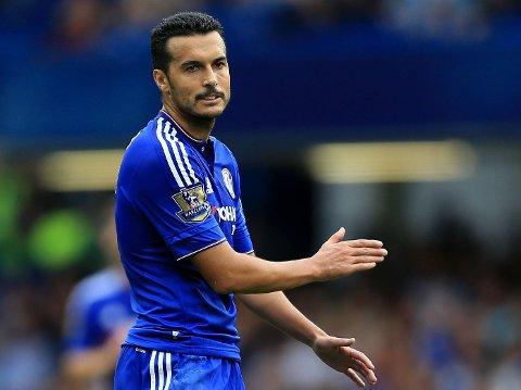 SKADD: Pedro blir ikke klar til Chelseas viktige ligakamp mot Arsenal om to dager.