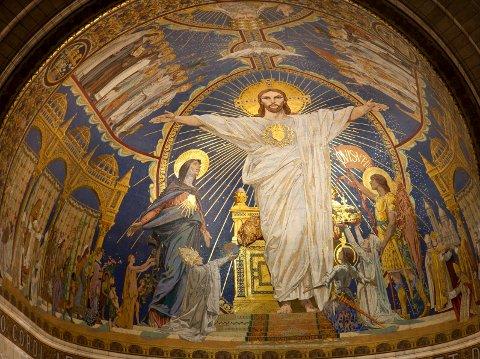 HIMMELSPRETTEN: 40 dager etter sin oppstandelse for Jesus opp til himmelen.