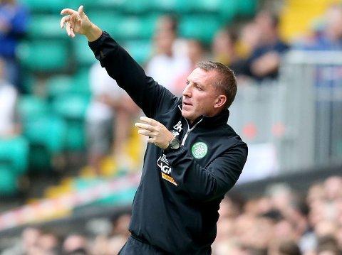 TREKKER I TRÅDENE: Celtic har foreløpig ikke overbevist under den nyansatte manageren Brendan Rodgers. Onsdag ble det i alle fall et bortemål og et greit utgangspunkt før andre kamp i Champions League-kvalikens tredje runde.
