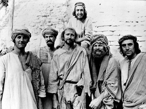 SVART HUMOR: Filmen «Life of Brian» er en Monty Python-film fra 1979. Den ble forbudt i Norge.