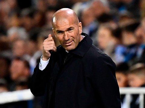 VIL KUPPE JUVEL: Ifølge Bild håper Zinedine Zidane å hente Jadon Sancho til Real Madrid i sommer.