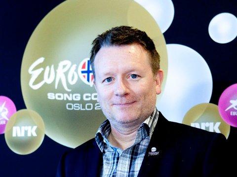 NRKs prosjektleder Jon Ola Sand var prosjektleder da Eurovision fant sted i Oslo i 2010.