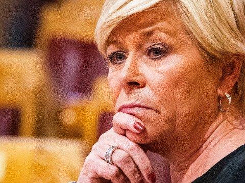 Krisetall for Frp-leder Siv Jensen.