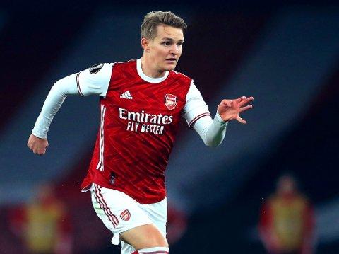 HÅPER FORTSATT: Arsenal har tydeligvis ikke lagt ifra seg planen om å kjøpe fri Martin Ødegaard fra Real Madrid.