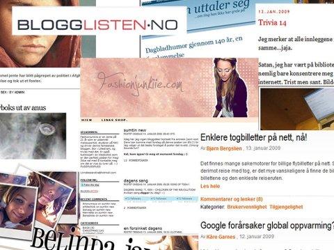 HEKTA PÅ BLOGG? Vis fram bloggen din til hele Norge på Blogglisten.no.