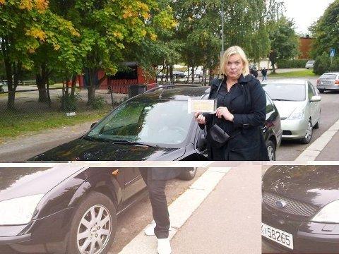 Bente Nilsen fra Bjørndal syntes det ble loppis med bismak, under sitt besøk på Manglerud i helgen. – Det er helt utrolig at parkeringsvakten kan ilegge bot her, sa hun.