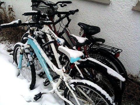 Nå skal snart sykkelen i bruk etter en lang vinter. Men er den i orden. Søndag er det sykkeldag på Toppåsen skole.