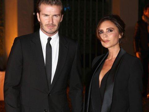 DAVID OG VICTORIA Beckham er utvilsomt et stilig par.