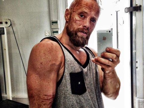 Aksel Hennie har tolv dagers arbeidsdag seks dager i uken og diverse timer i treningsstudioet for rollen i Hercules.