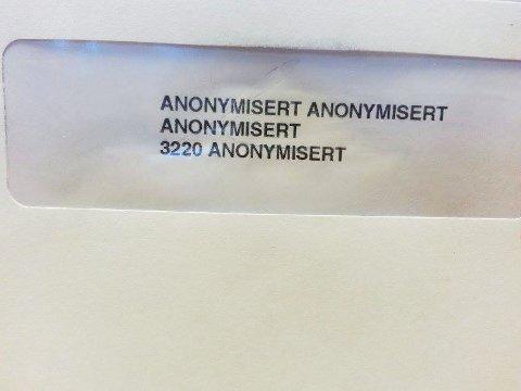Posten klarer å finne mottakeren til de fleste brev, men denne gang ble det litt for vanskelig.