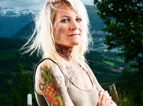 VANT: Karoline Hille ble i kveld kåret til vinneren av «Kari Traa-leikane».