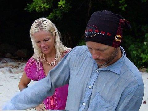 FINALEN: Marit Herstad og Bjørn Tore Bekkeli er to av finalistene i årets Robinsonekspedisjonen.