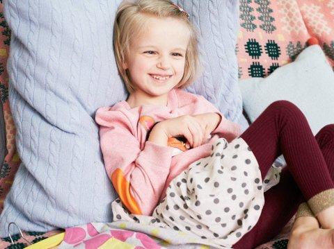 HOLLY GREENHOW er en av barnemodellene til klesmerket Boden.