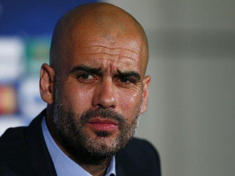 HAR RESPEKT FOR ARSENAL: Pep Guardiola har aldri slått Arsenal i London som manager.