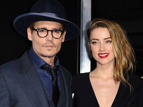 Johnny Depp og Amber Heard møtte hverandre under innspillingen av Rum Diary, og vips, et års tid senere var Vanessa Paradis historie ...