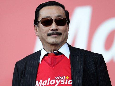 STØTTER SOLSKJÆR: Vincent Tan er overbevist om at Ole Gunnar Solskjær er rett mann til å berge plassen for Cardiff.