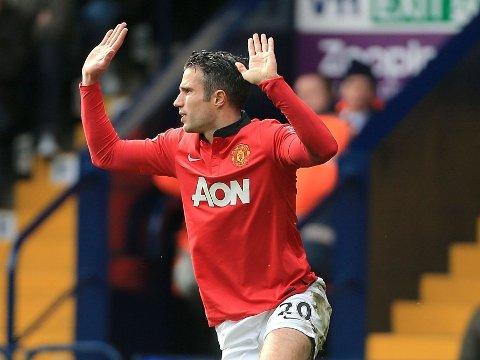 VIL BORT: Robin van Persie er forberedt på å si fra seg en lojalitetsbonus på ti millioner pund for å kunne forlate Manchester United til sommeren