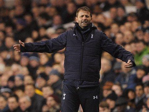 RASENDE: Tottenham-manager Tim Sherwood mener at spillerne sine mangler karakter.