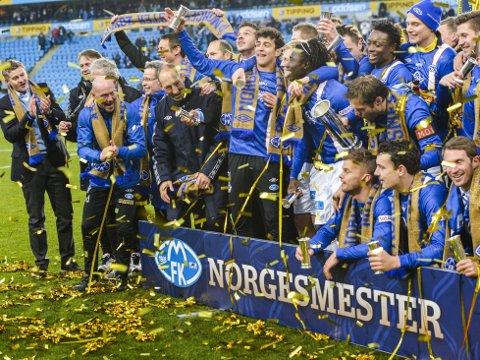 Forbundsstyret i NFF har vedtatt at fra og med 2014 blir en større andel av cupfinalebillettene gitt til finalelagene. Her feirer Molde etter cupfinaleseieren mot Rosenborg i 2013.