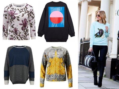 Fra venstre: Bruns Bazaar, Acne, FWSS, H&M.